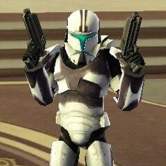Hotshot in his Clone Commando armor