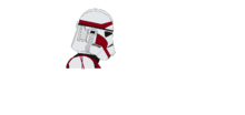 Ct-1111 a.k.a commander uno's leader of the 223rd strike force (phase 2 helmet side view)
