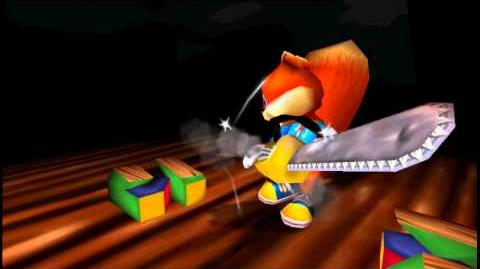 Conker kills the N64 logo (16-9 HD)