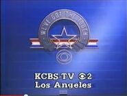 CBS-TV's We've Got The Touch Video ID With KCBS-TV Los Angeles Byline From Late 1985