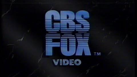 CBS Fox Video (1984) Company Logo (VHS Capture)