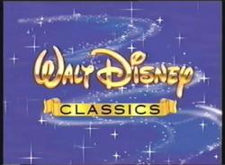 Walt Disney Classics 2000 Logo (Promo Variant)