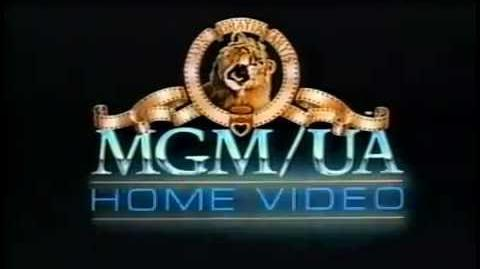 MGM UA Home Video Logo (1982)