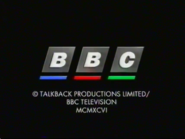 BBC Video 1996 Closind Logo (They Think It's All Over No Holds Barred Variant)