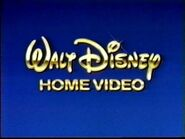 Walt Disney Home Video Blue Background