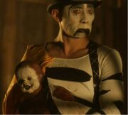 Freakshow the mime clown