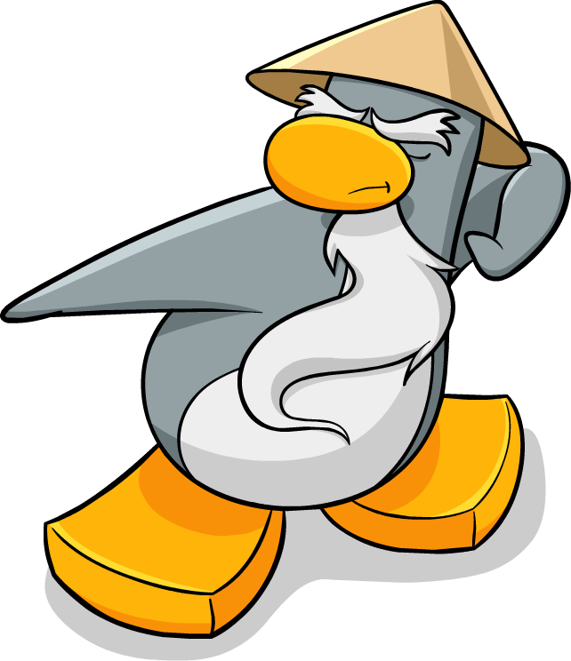 club penguin ninja coloring pages - sensei club penguin 3 wiki fandom powered by wikia