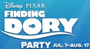Finding Dory Party Logo
