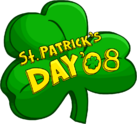 St. Patrick's Day Party 2008 Logo