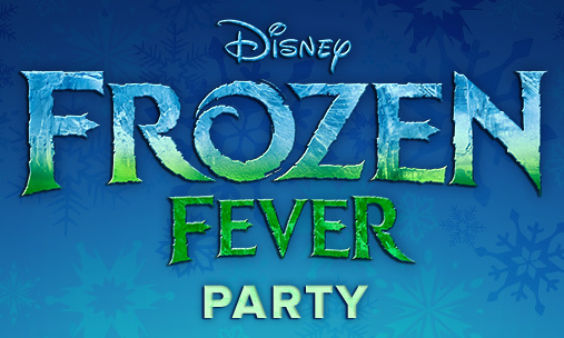 File:Frozen Fever Party Logo.png