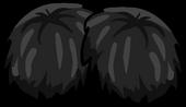 Black Pompoms