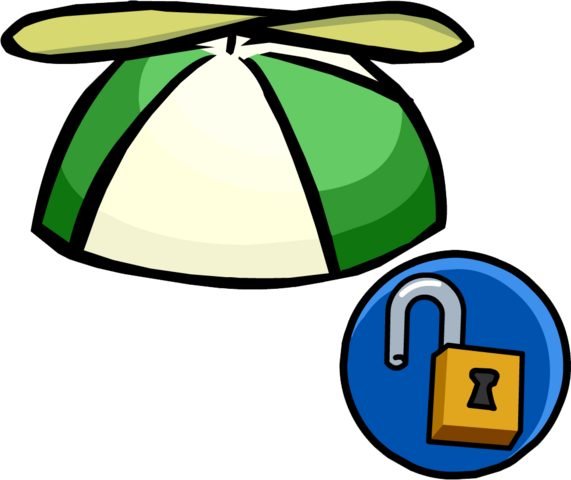 File:Green Propellor Cap unlockable icon.png