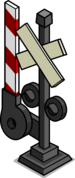Railroad Crossing Sign sprite 001