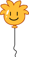 Orange Puffle Balloon icon