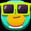Decal Cool Emoji icon