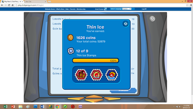File:Club Penguin—Thin Ice All Stamps Earned Extra Stamp(s) Glitch—Benny75527.png