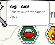 Begin build stamp book