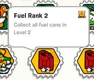 Fuel rank 2 stamp book