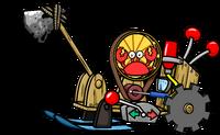 Woodchopper klutzy
