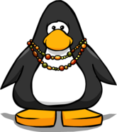Beaded Necklace on Player Card
