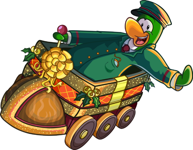 File:Green penguin riding The Holiday Express.PNG