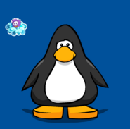 Puffle Park Pin on Player Card