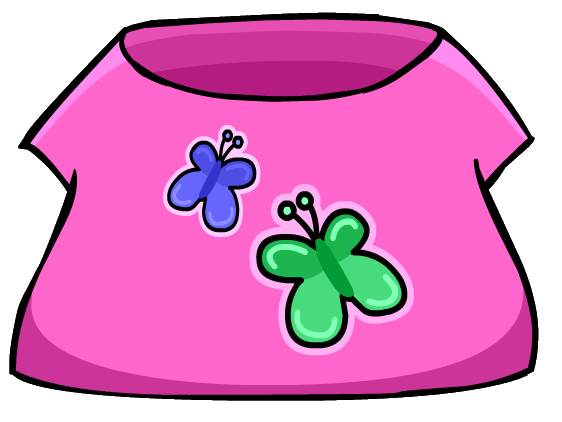 File:Butterfly T-Shirt clothing icon ID 203.png