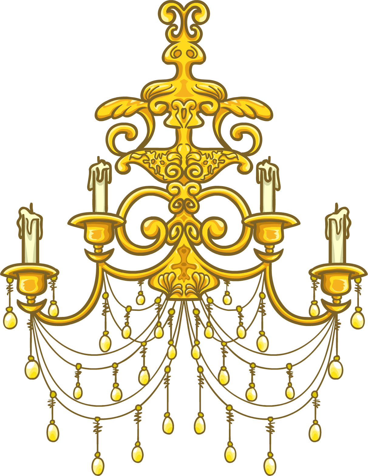Image Goldchandelier Png Club Penguin Wiki Fandom