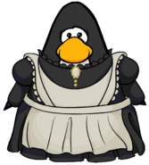 Maid Outfit from a Player Card