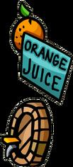 Medieval Party orange juice