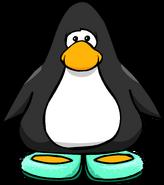 SparklySeaFoamSlippersPlayercard