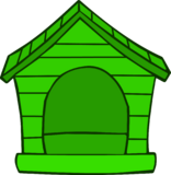 Green Puffle House