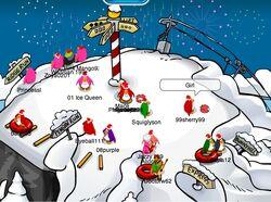 New Year's Day 2007 Ski Hill