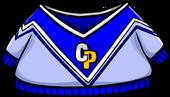 BlueCheerleadingSweater