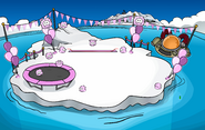 Puffle Party 2009 Iceberg