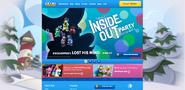InsideOutPartyHomepageScreen