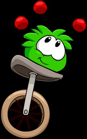 File:Green PuffleJuggling.png