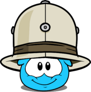 Safari Hat (Puffle Hat) in Puffle Interface