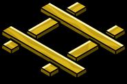 Gold Railroad Crossing sprite 001