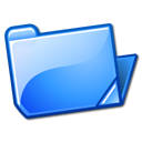 Ficheiro:Nuvola filesystems folder blue open.png