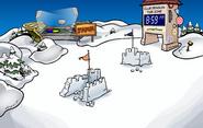 Snowflakes Pin location
