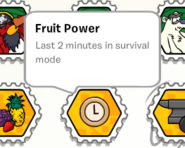 Fruit power stamp book