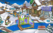 Club Penguin Island Party Ski Village 2