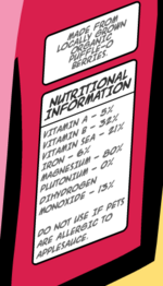 Puffle-o's Nutrition