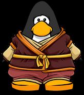 Fire Ninja Gi from a Player Card
