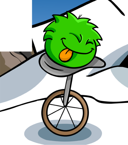 File:GREEN PUFFLE card image.png