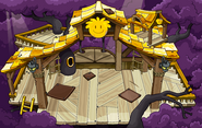 Gold Puffle Tree House sprite