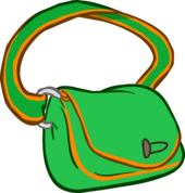 Green Satchel clothing icon ID 3167