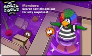 April Fools' Party 2011 login screen 2
