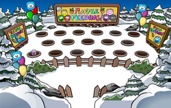 Puffle Feeding Room'